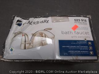 Glacier Bay Builders bath faucet 523 918 polish brass