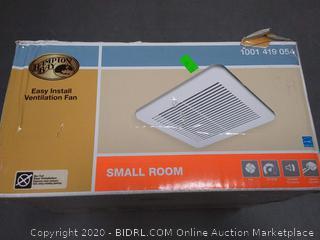 Hampton Bay easy install ventilation fan for small room