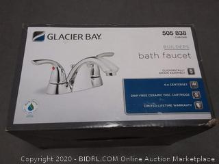 Glacier Bay Builders bath faucet 505 838 Chrome