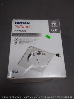 Broan Nutone C370BN fan motor assembly