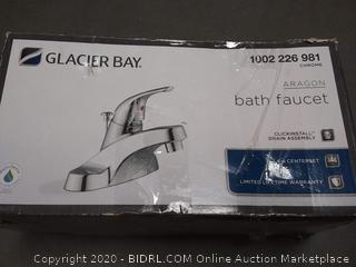 Glacier Bay Aragon bath faucet Chrome