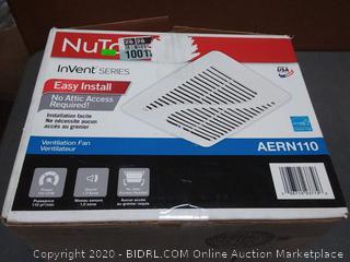 NuTone invent series easy install ventilation fan