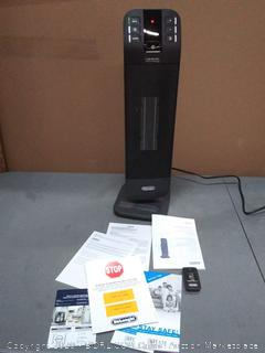 DeLonghi 5120-BTU Ceramic Tower Electric (powers on)