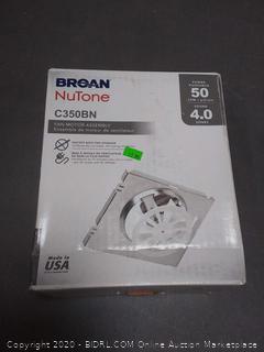 Broan Nutone C350BN fan motor assembly