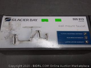 Glacier Bay wall mount faucet Chrome