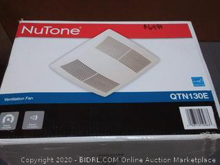 NuTone ventilation fan 130 CFM