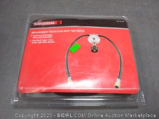 Universal replacement regulator with two hose