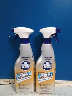 Bar Keepers Friend 25.4-fl oz Foam Multipurpose Bathroom Cleaner 2pck