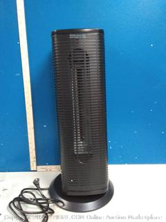 infrared tower heater with oscillation and remote(powers on)
