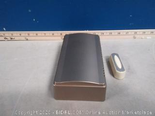 Style Selections wireless doorbell with button(previously owned)