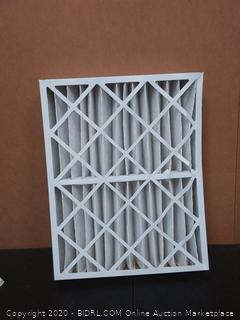 Merv 11 Aerostar pleated air filter set of 6