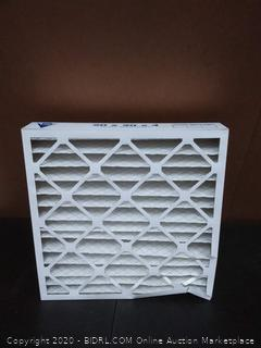 Nordic pure AC and furnace air filters X2. 20 x 20 x 4