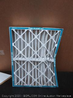 aaf Flanders 20 x 25 x 4 pre pleat LPD scmaf filters six pack