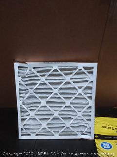 true blue Pro Series air filter X-6 20 x 20 x 2
