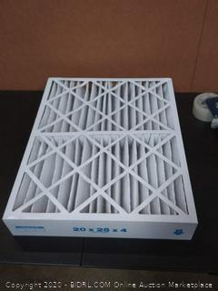 Vero Stormer of 11 20 x 25 x 4 pleated air filter X6