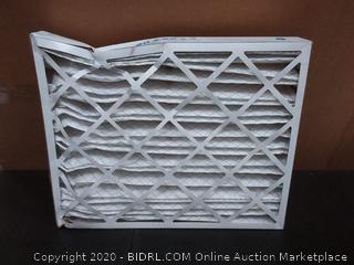 Merv Aerostar pleated air filter 6 Pack 20 x 25 x 4