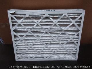 Aerostar 20 x 25 x 4 Merv 11 Aerostar pleated air filters X6