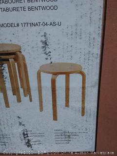 Linon Brentwood stool