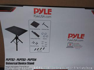 New Pyle PLPTS4 Pro DJ Laptop TriPod Adjustable Stand For