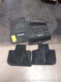 Chrysler floor mats black
