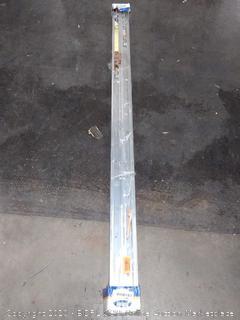 "Johnson Hardware 138F Sliding Bypass Door Hardware (60"" 2 Door System)"