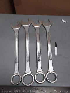 ATE Pro. USA 30069 Jumbo Wrench, SAE 4-Piece Set