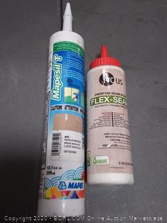 Mapesil T silicone sealer Navajo Brown Plus IVC us flex-seam