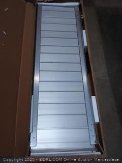 "Silver Spring aluminum folding wheelchair ramp plus 4'×29"""