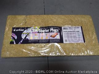 Grodan A-OK 36/40 1.5 Inch Starter Plugs, Sheet of 98