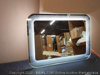costway lighted wall mirror (powers on)