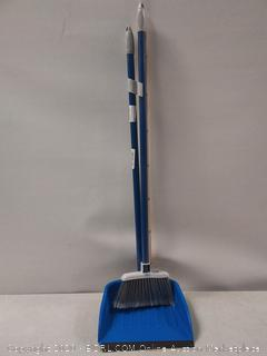 Quickie Stand and Store Stand & Store Lobby Broom and Dustpan Set