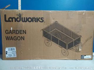 Landworks Utility Garden Wagon (online $139)
