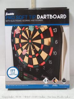 Franklin Sports FS6000 Electronic Dartboard (online $60)