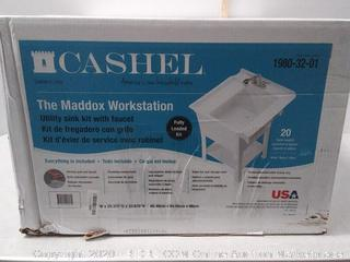 CASHEL The Maddox Workstation - Fully Loaded Sink (online $136)