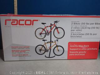 Racor Home Storage Products Gravity Bike Rack (online $95)