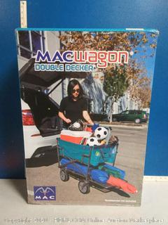 Mac Sports Double Decker DD-100 Teal, Wagon  (online $92)