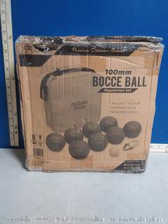 GoSports Premium 100mm Bocce Ball Set (online $52)