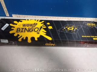 cornhole toss game set wow Bingo