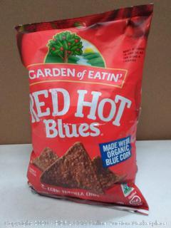 Garden of Eatin red-hot Blues corn tortilla chips 3 pack EXP 01 2020