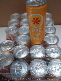 izze Sparkling Peach juice 24 pack Best Buy January 2020