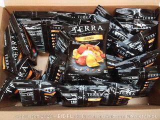 Terra real vegetable chips 20 for 1 oz bags EXP November 2019