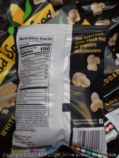 40 count white cheddar cheese popcorn smartfood (exp 2/2020)