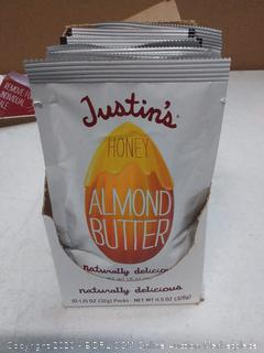 Justin's honey almond butter 10 pack