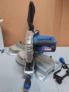 Kobalt 7 1/4-in 10 Amp Single-Bevel Sliding Compound Mitre Saw(used)(Retails $159)