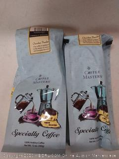 coffee Master specialty coffee Chocolate thunder( 2 12 oz bag)