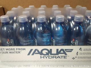 aquahydrate ph9 water bottles 24 pack