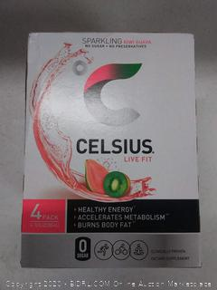Celsius kiwi guava healthy energy 4 pack