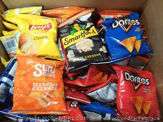 35 count classic mix Frito-Lay Doritos white cheddar popcorn sunset Lay's classic