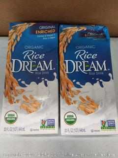 2-pack organic rice dream rice milk