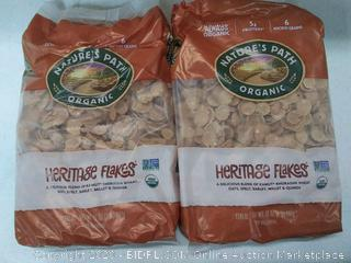 Nature's Path organic Heritage flakes (2 packs)